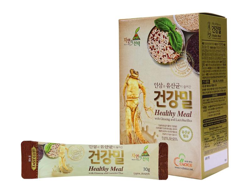 인삼+홍삼 건강밀 선물세트1호