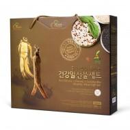 인삼+홍삼 건강밀 선물세트2호